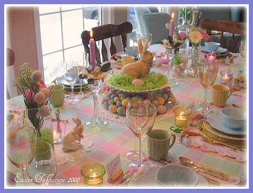 Easter on pinterest easter eggs easter table and tablescapes - Easter table decorations meals special ...