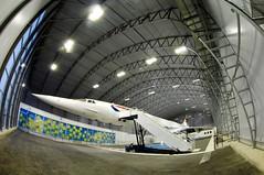 Concorde Alpha Charlie at Manchester Eco Hangar 1