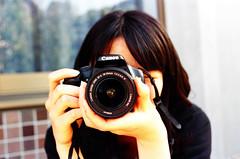 girl wtih camera