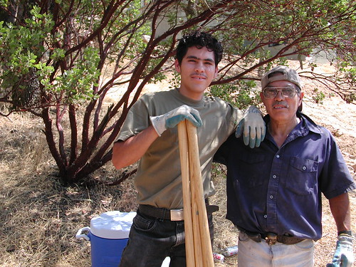 Père et fils   --  Father & son