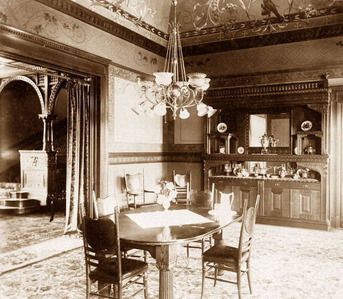 Shatto Residence Dining Room 1890's