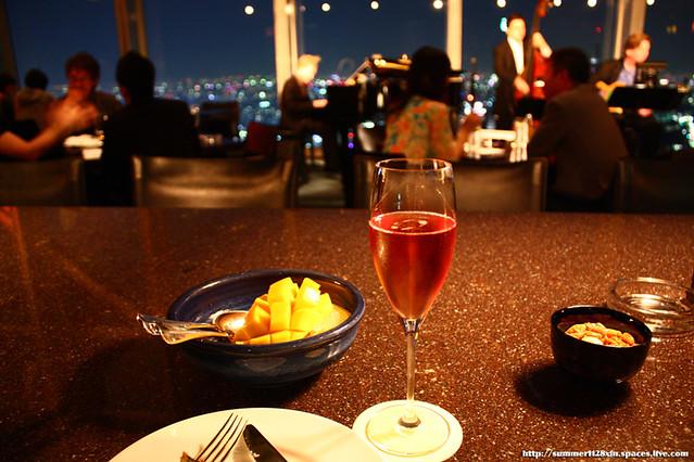 Taittinger Brut Prestige Rose@New York Bar, Park Hyatt Tokyo