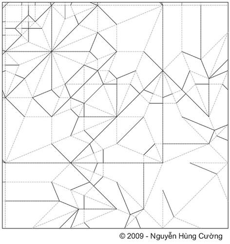 origami eagle nguyen hung cuong diagram pdf