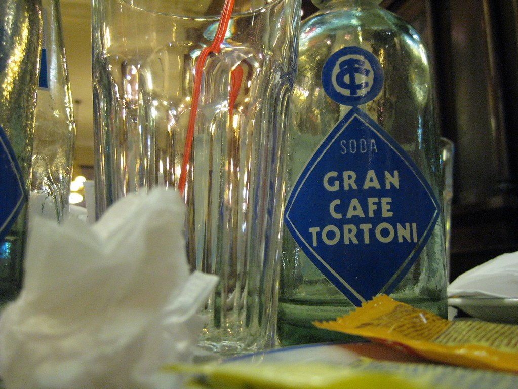 Gran Cafe Tortoni Table