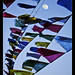 moon and the prayer flags (explored)