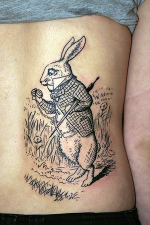 rabbit from alice in wonderland
