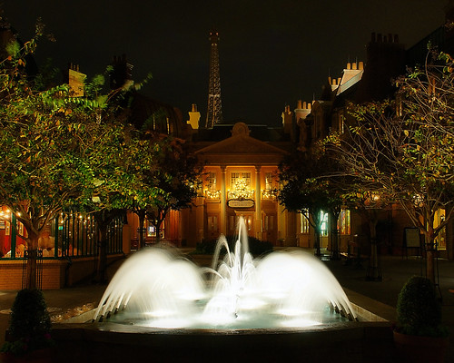 Disney - France at Night (Explored) - 無料写真検索fotoq