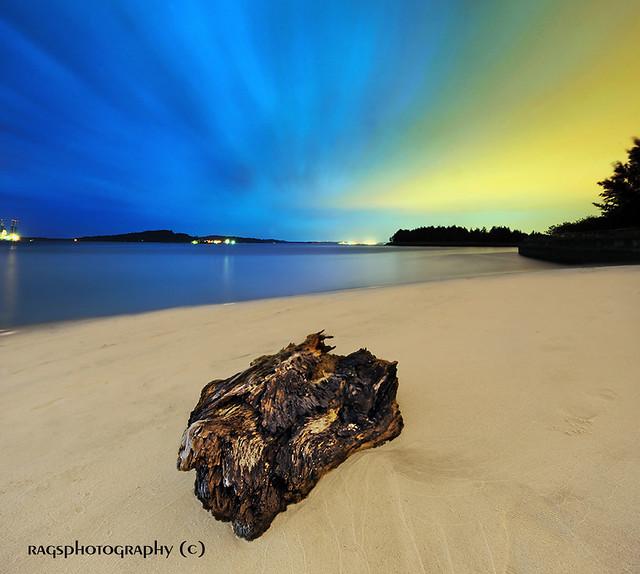 Aurora Borealis in Singapore.  Turning Night into Day