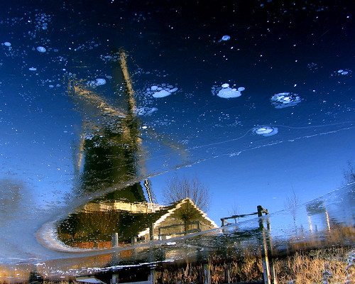 Windmill in ice