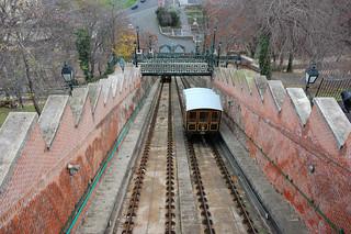 Image de Budapest Castle Hill Funicular près de Budapest. hungary budapest ungarn castlehill funicular budacastle hongrie téléphérique