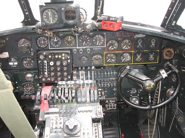 B24 cockpit  for a larger  B24 Cockpit