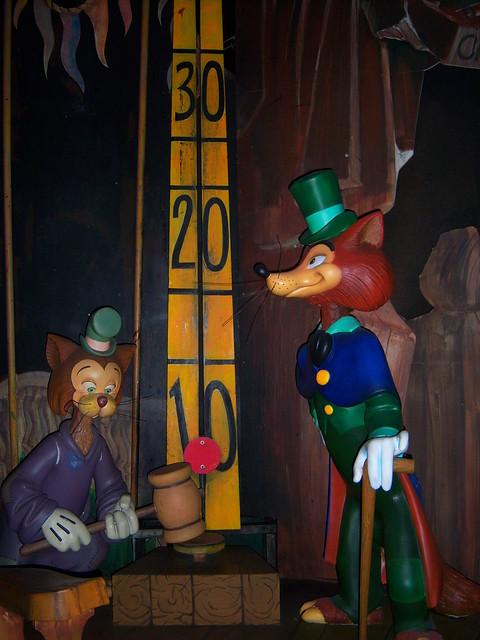 Gideon and Honest John in Pinocchio s Daring JourneyHonest John And Gideon