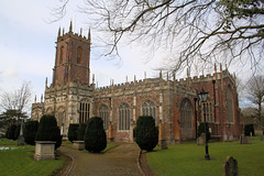 St Peter's Church, Tiverton UK - 1