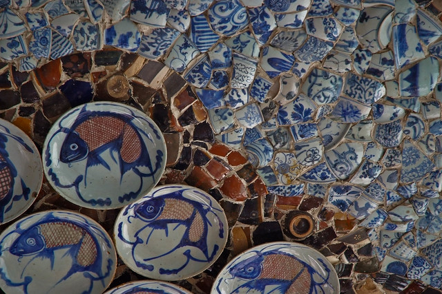 Porcelain House Roof
