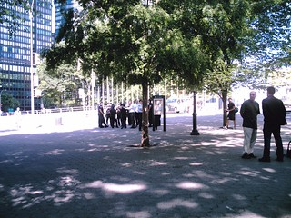 Police watching Iranian students at UN Sunday June 14