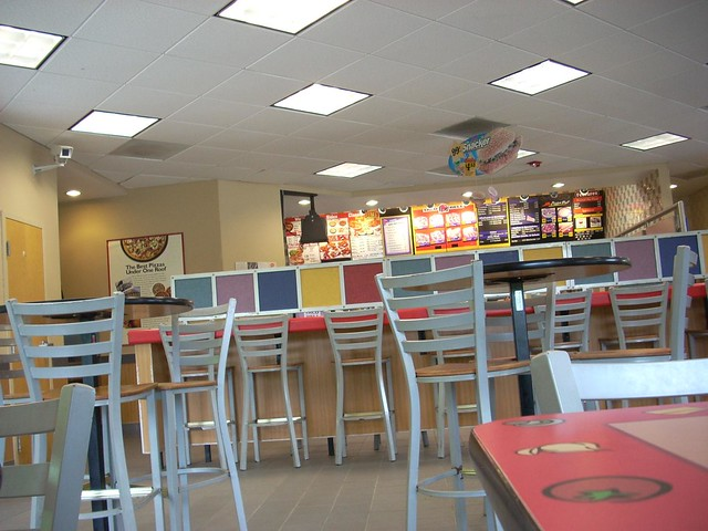 Taco bell kfc pizza hut interior the of a