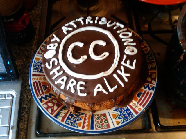 Creative Commons Cake