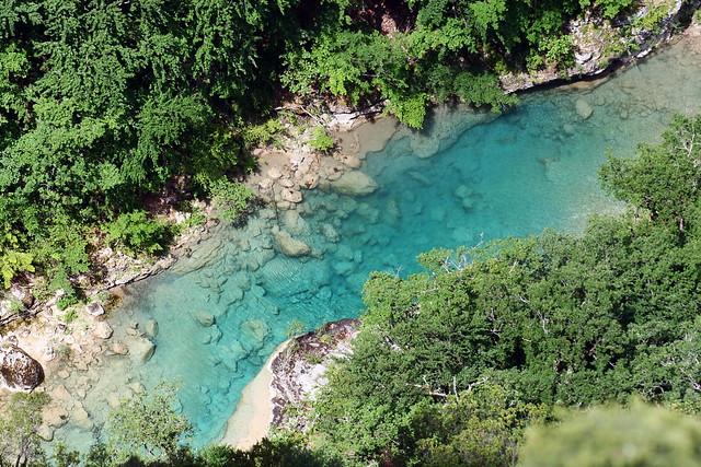 Parque Natural de las Gargantas del Verdon, la Provenza, Francia