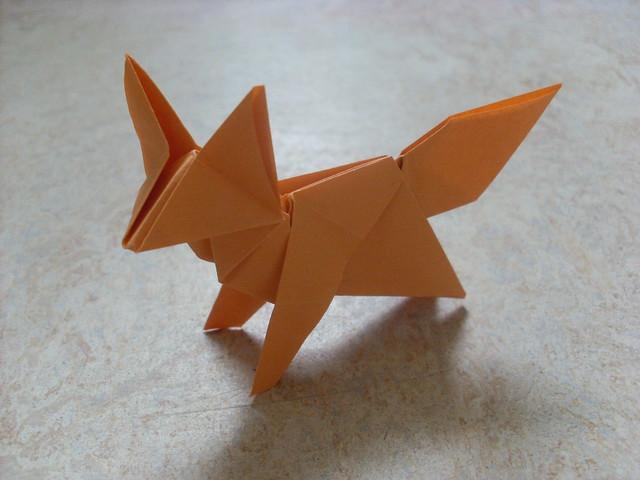 3d origami fox diagram sea fox boat wiring diagram fox (peterpaul forcher) | flickr - photo sharing! #10