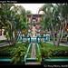 Granada courtyard, Nicaragua