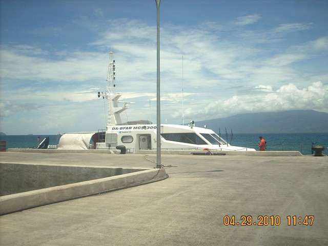 BFAR fastcraft in Mati port