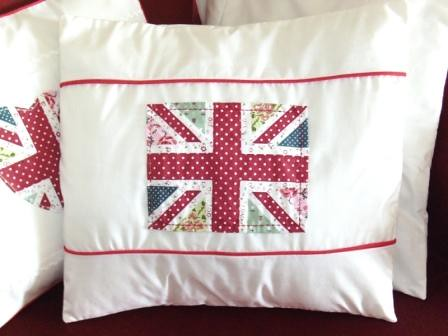 Shabby Chic Union Jack Pillow : Union Jack Cushion Cover - Shabby Chic 1 Flickr - Photo Sharing!