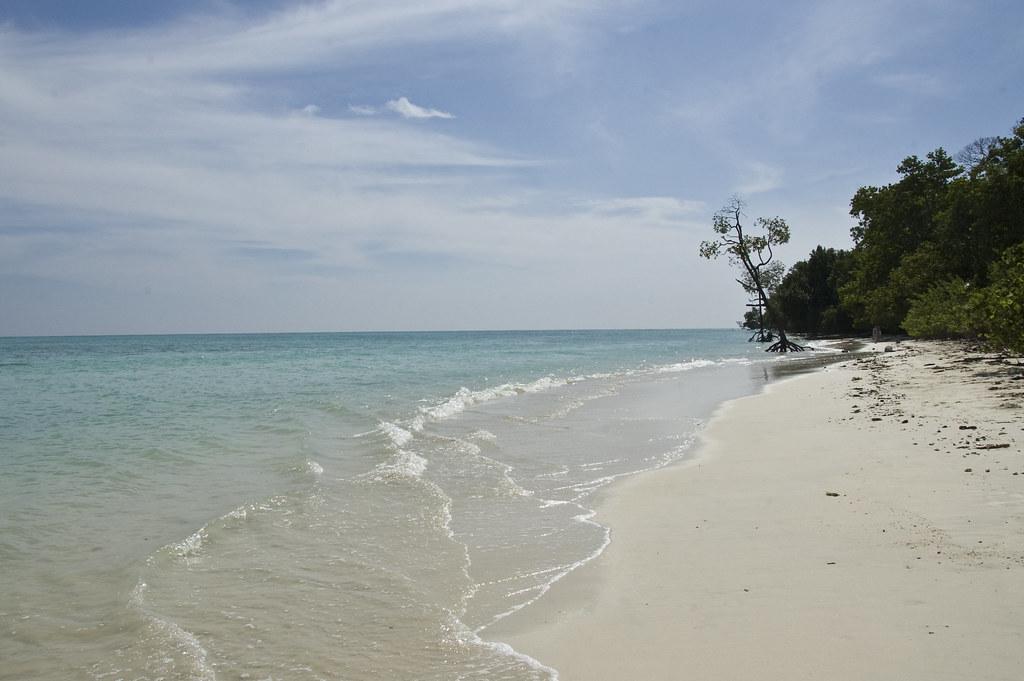 пляж хавелок