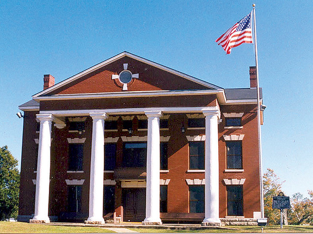 Phenix City (AL) United States  city photo : Phenix City: Russell County Courthouse