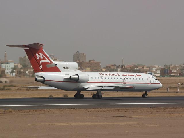 Marsland Aviation, Khartoum Airport, Sudan