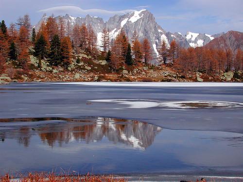 """Monte Bianco from the book """"Giorno per giorno, l'avventura"""" by Walter Bonatti"""