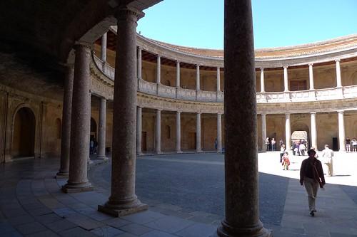 Foto Palacio Calos V Alhambra Granada