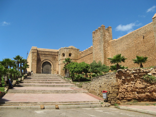 Walls around the casbah rabat morocco flickr photo for Morocco motors erie pa