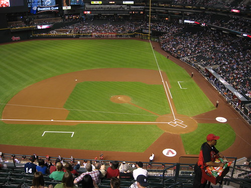 Arizona Diamondbacks 9, Los Angeles Dodgers 4, Chase Field, Phoenix, Arizona