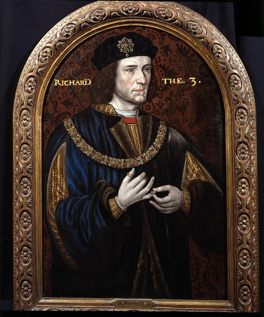 Richard III, uncle of Elizabeth of York, great uncle of Henry VIII