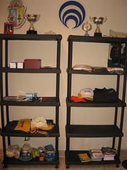shelving, shelf, furniture, room,