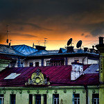 Colours of tge roofs