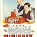 Minibrix - childrens building block toy - advert, 1951