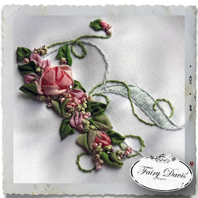 Silk Ribbon Embroidery A Gallery On Flickr