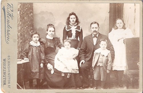 Famiglia all'inizio del 1900