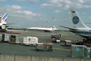 Concorde at JFK (1987)