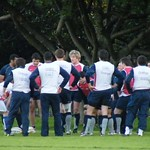 FRENCH RUGBY UNION TEAM - AUSTRALIA 2009