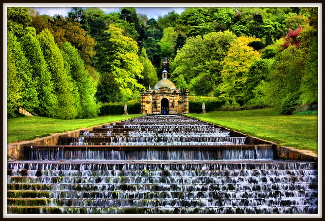 chatsworth house garden cascade explore andy watson1 39 s pho flickr photo sharing