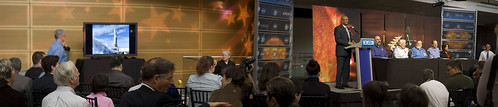 SDO First Light Press Conference - panorama #1