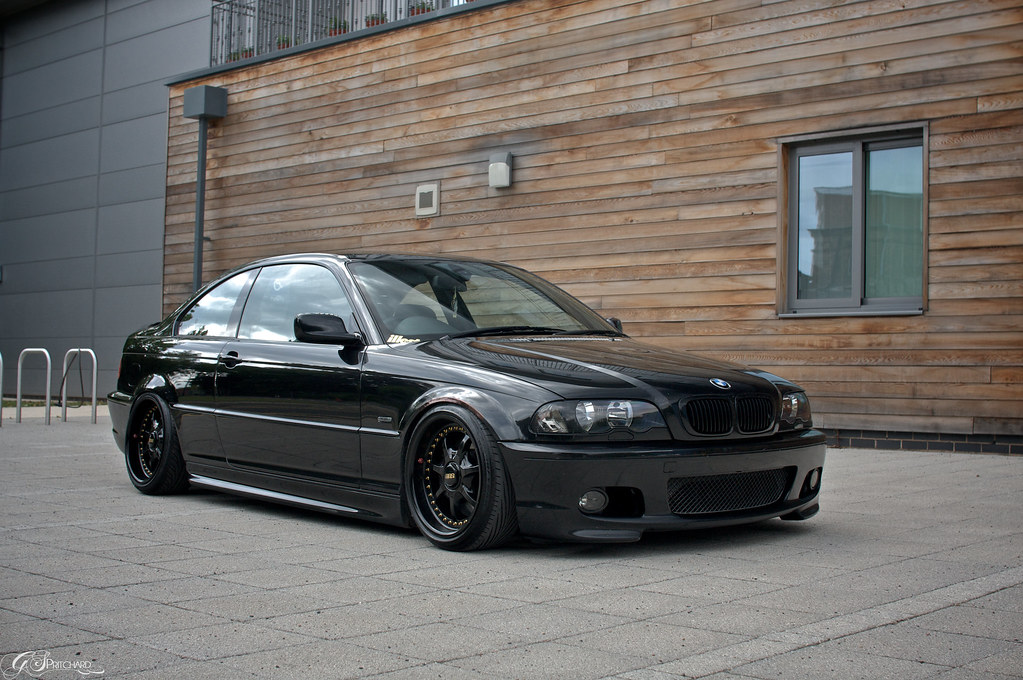 uk bmw e46 330ci sport black coilovers bbss. Black Bedroom Furniture Sets. Home Design Ideas