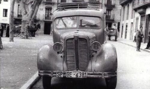 camió Fiat a Camprodon (Girona)