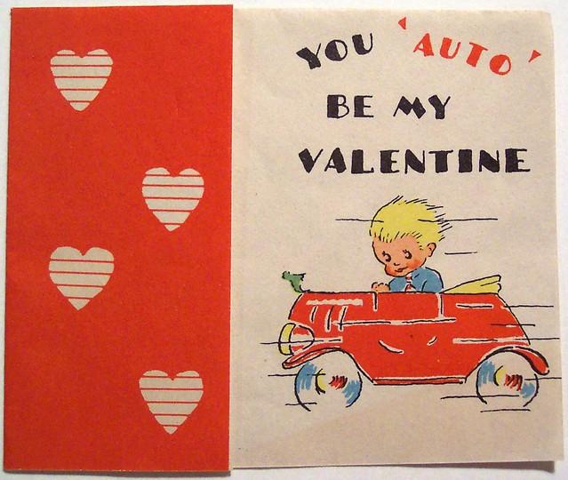adrisaurus valentine's day cards - Vintage Valentine s Day Card