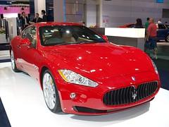 automobile(1.0), automotive exterior(1.0), maserati(1.0), vehicle(1.0), performance car(1.0), automotive design(1.0), auto show(1.0), maserati granturismo(1.0), bumper(1.0), sedan(1.0), land vehicle(1.0), luxury vehicle(1.0), coupã©(1.0), supercar(1.0), sports car(1.0),