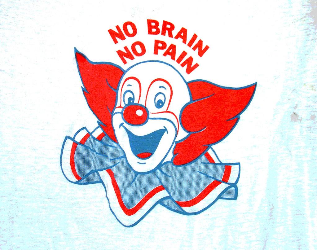 No Brain No Pain