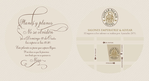 Alvear Palace Hotel - invitation
