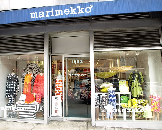 marimekko concept store upper east side new york city flickr photo sharing. Black Bedroom Furniture Sets. Home Design Ideas